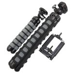 Flexible Tripods + Cell Phone Mount Bundle