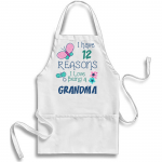I Have Reasons - White Apron